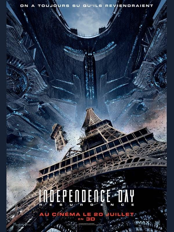 Independence Day : Resurgence, Affiche