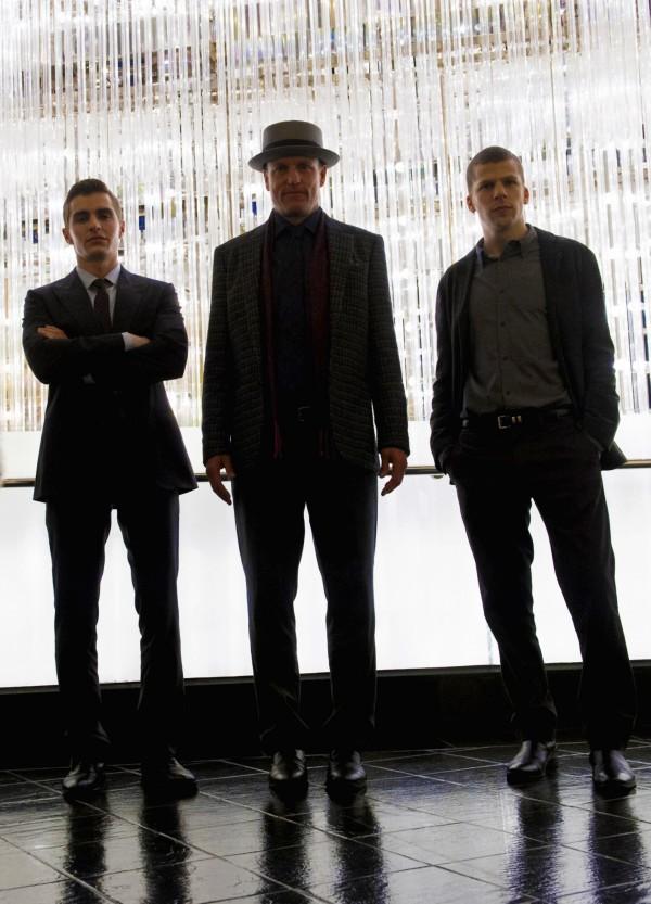Dave Franco, Woody Harrelson, Jesse Eisenberg