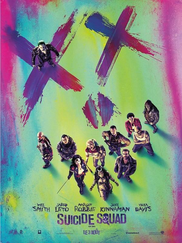Suicide Squad, Affiche