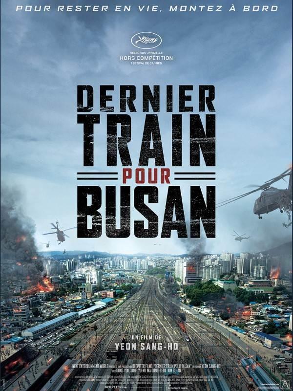 Dernier train pour Busan, Affiche