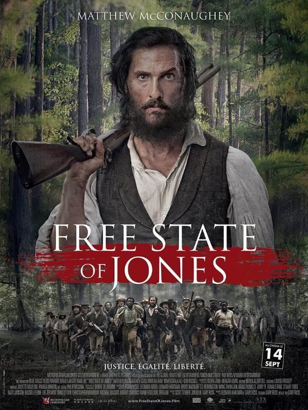 Free State of Jones, Affiche