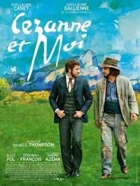 Cézanne et moi, Affiche