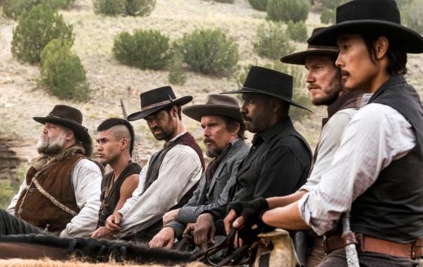 Vincent D'Onofrio, Martin Sensmeier (Red Harvest), Manuel Garcia-Rulfo (Vasquez), Ethan Hawke, Denzel Washington, Chris Pratt, Lee Byung-hun