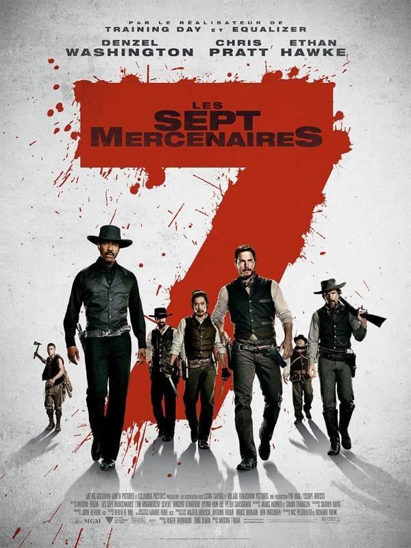 Les Sept Mercenaires, Affiche