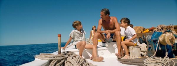 Rafaël De Ferran (Jean-Michel Cousteau enfant), Lambert Wilson, Ulysse Stein (Philippe Cousteau enfant)