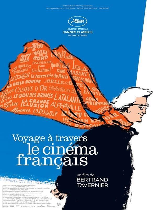 Voyage à travers le cinéma français, Affiche