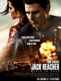Jack Reacher : Never Go Back, Affiche