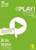 Play ! aux Déchargeurs : Affiche
