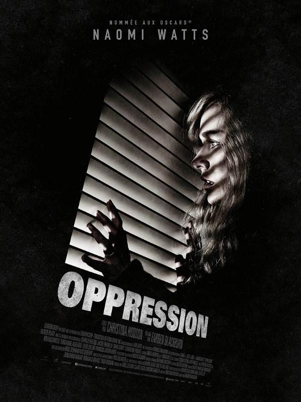 Oppression, Affiche