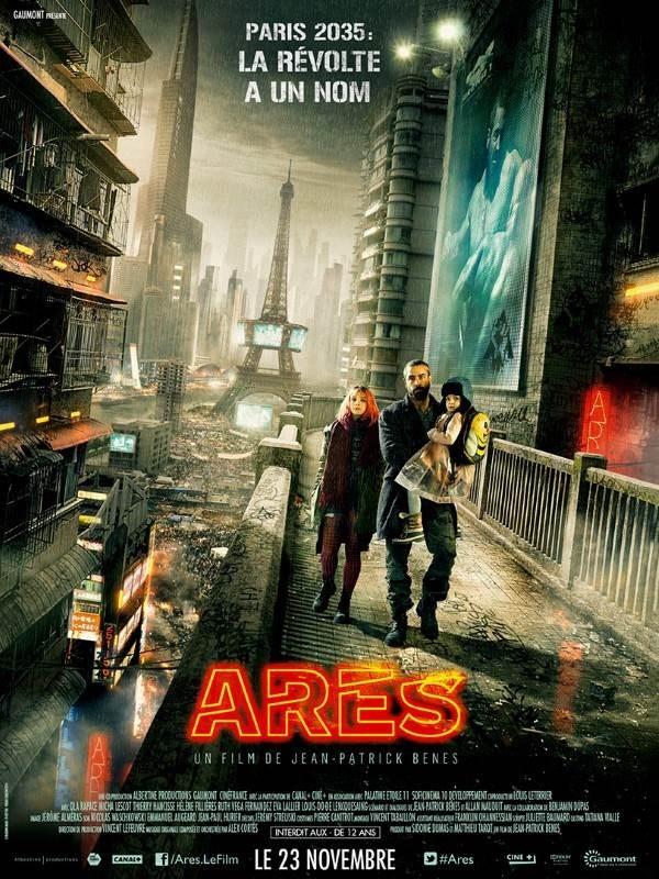 Arès, Affiche