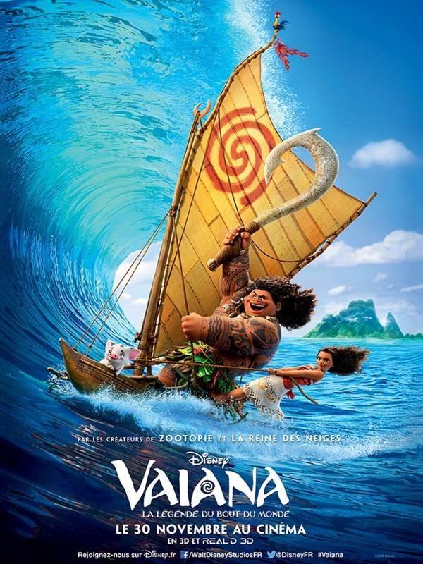 Vaiana, la légende du bout du monde, Affiche