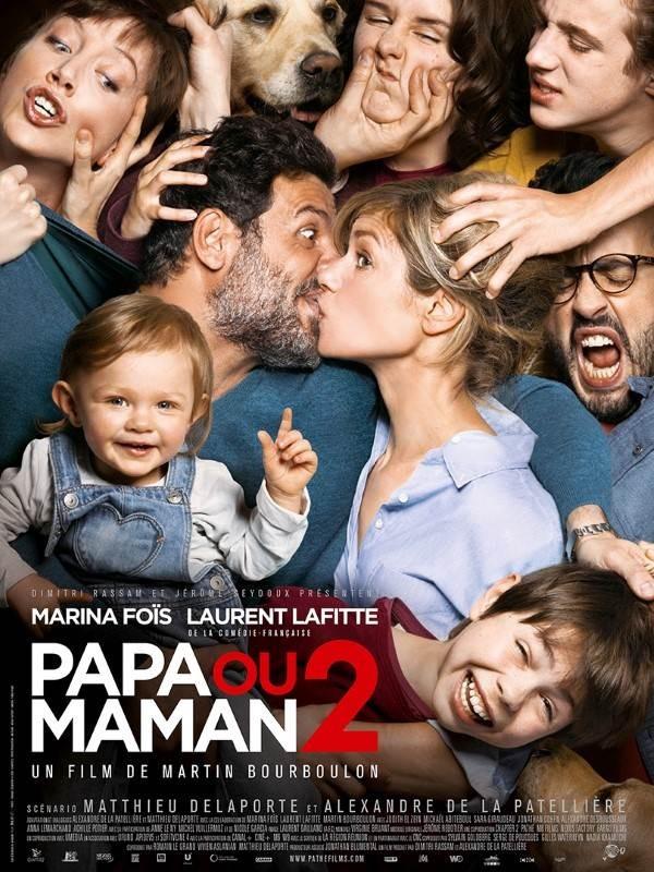 Papa ou maman 2, Affiche