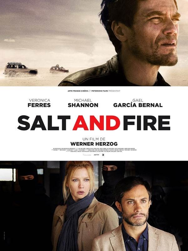 Salt and Fire, Affiche