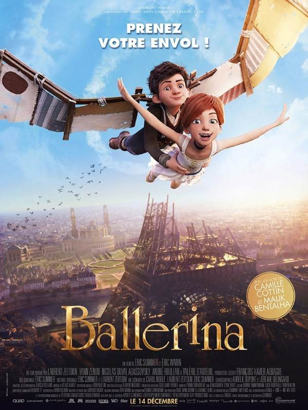 Ballerina, Affiche
