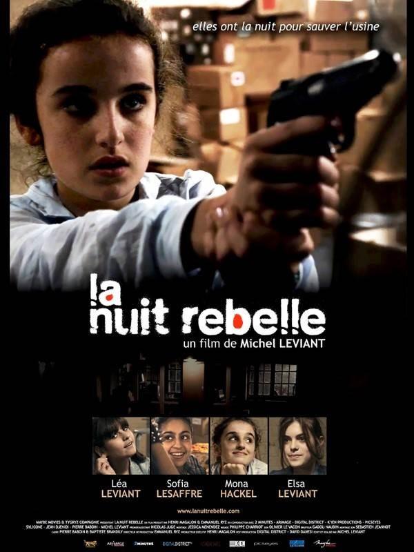 La Nuit rebelle, Affiche