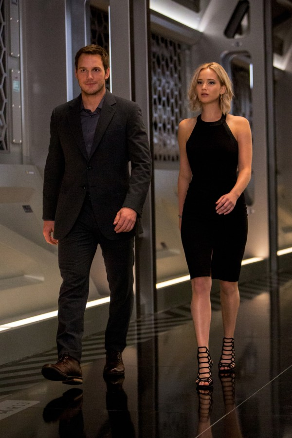 Chris Pratt, Jennifer Lawrence