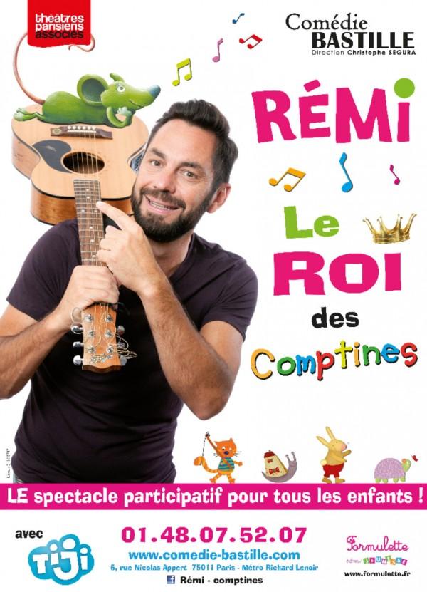 Rémi, le roi des comptines à la Comédie Bastille