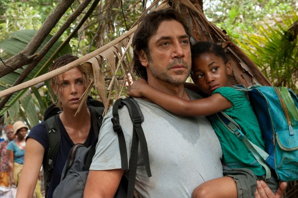 Charlize Theron, Javier Bardem, personnage