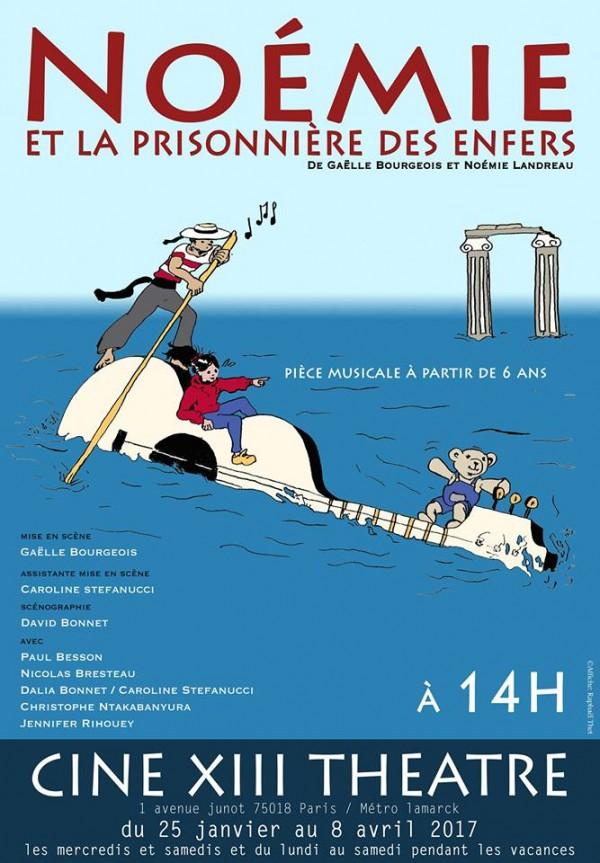 Noémie et la prisonnière des enfers au Ciné XIII Théâtre