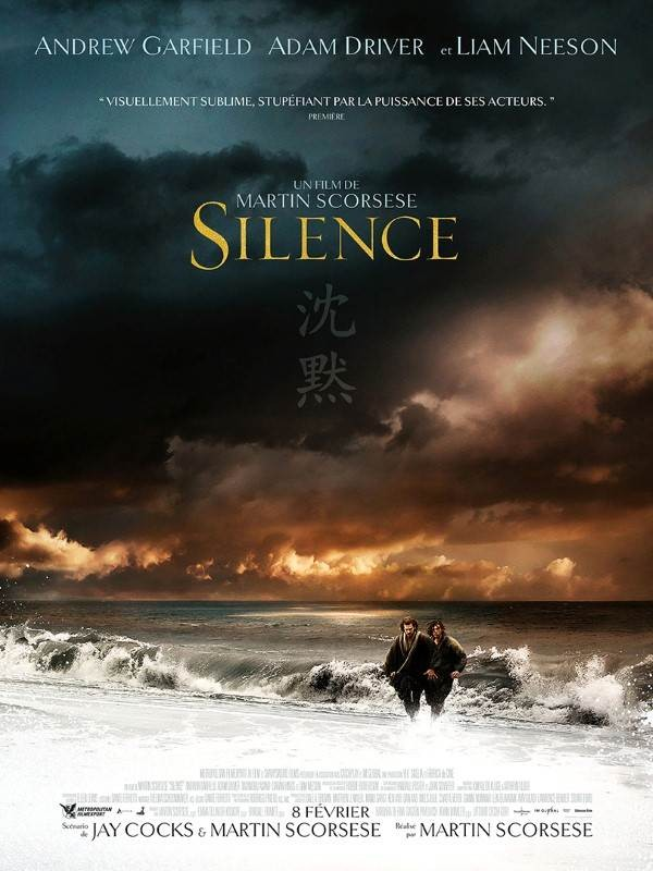 Silence, Affiche