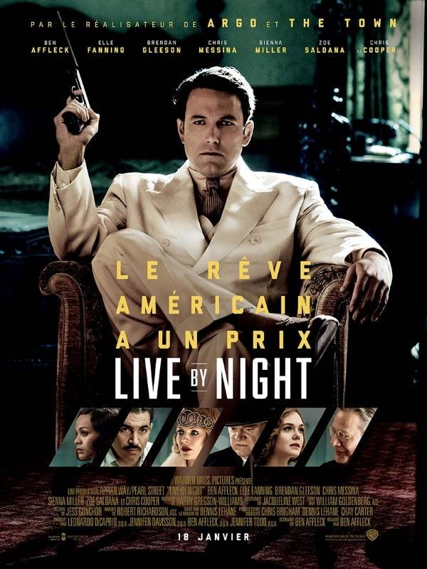 Live by Night, Affiche
