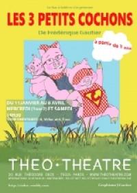Les 3 petits cochons : Affiche