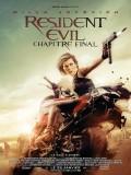 Resident Evil : Chapitre final, Affiche