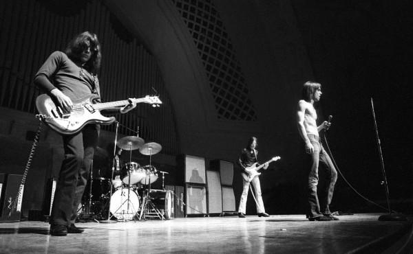 The Stooges à Hill Auditorium Ann Arbor, 1970