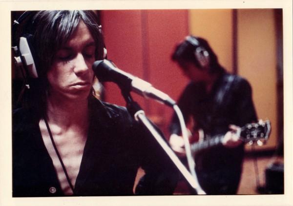 Iggy Pop, Olympic Studios, Londres, 1972