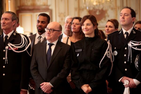 François Levantal, Michel Blanc, Alice Pol, personnages