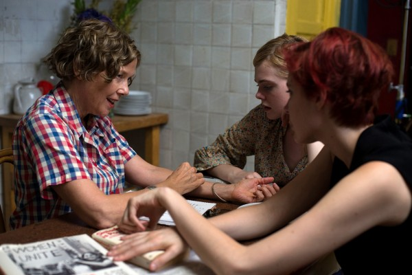 Annette Bening, Elle Fanning, Greta Gerwig