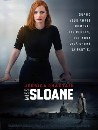 Miss Sloane, Affiche
