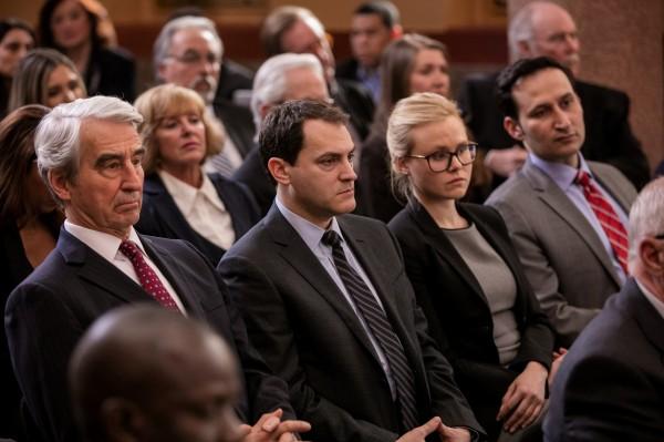 Sam Waterston, Michael Stuhlbarg, Alison Pill, Raoul Bhaneja (R. M. Dutton)