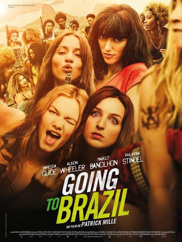 Going to Brazil, Affiche