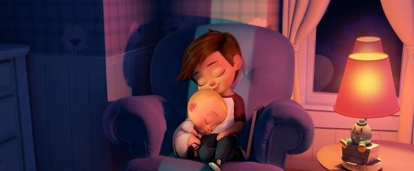 Le bébé, Tim