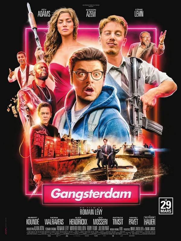 Gangsterdam, Affiche