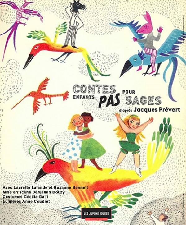 Contes pour enfants pas sages au Théâtre L'Essaïon