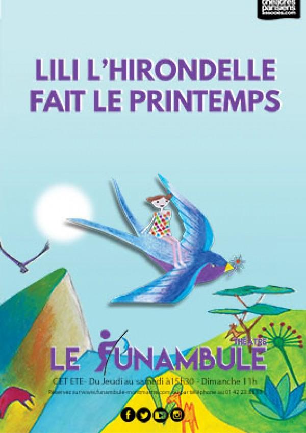 Lili l'hirondelle fait le printemps au Théâtre le Funambule