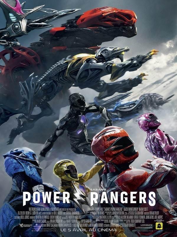 Power Rangers, Affiche