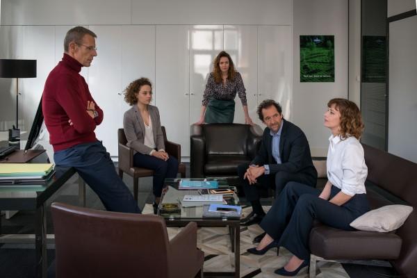 Lambert Wilson, Alice de Lencquesaing (Sophie), Violaine Fumeau, Stéphane De Groodt, Céline  Sallette