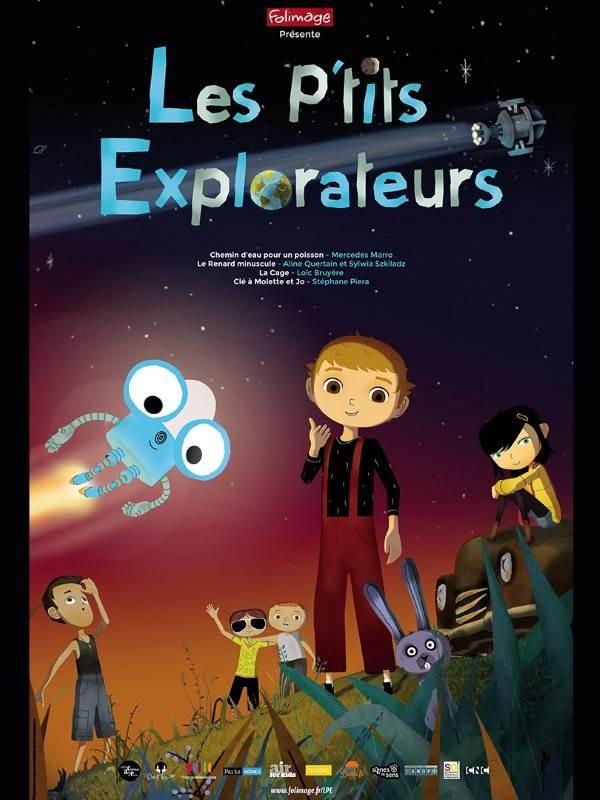 Les P'tits explorateurs, Affiche
