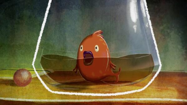 """""""Chemin d'eau pour un poisson"""" de Mercedes Marro"""