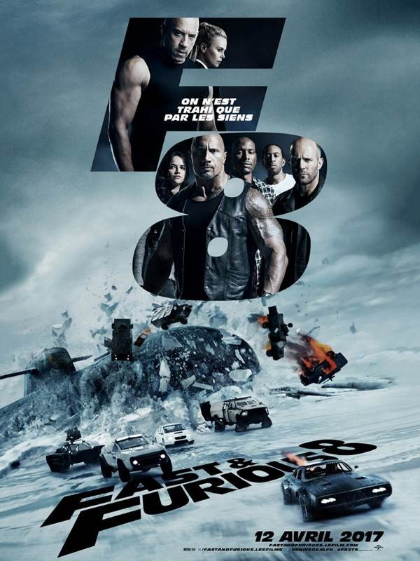 Fast & Furious 8, Affiche