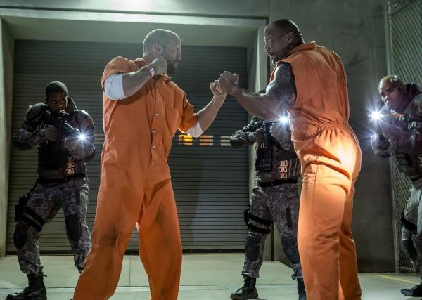 Jason Statham, Dwayne Johnson