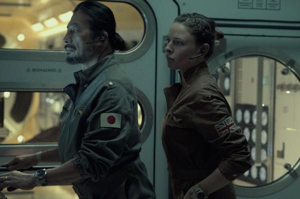Hiroyuki Sanada, Rebecca Ferguson