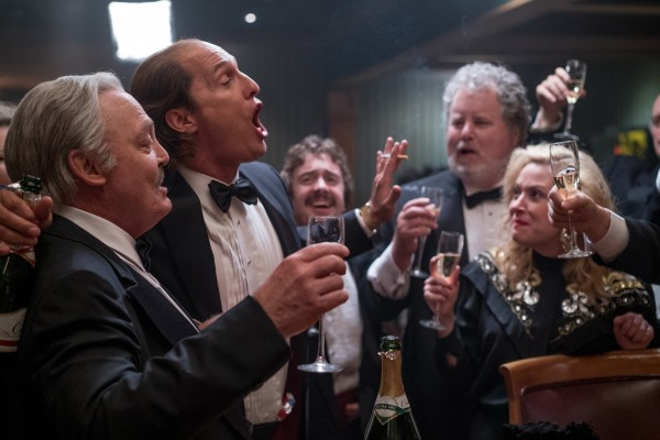 Stacy Keach, Matthew McConaughey, personnages