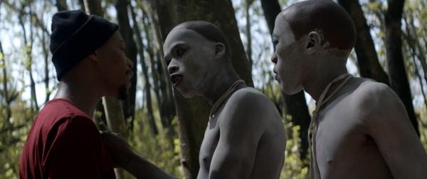 Nakhane Touré, Niza Jay Ncoyini, personnage