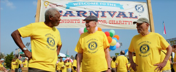 Morgan Freeman, Michael Caine, Alan Arkin