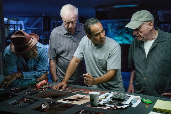 Morgan Freeman, Michael Caine, John Ortiz, Alan Arkin