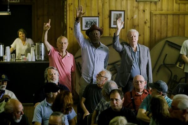 Alan Arkin, Morgan Freeman, Michael Caine